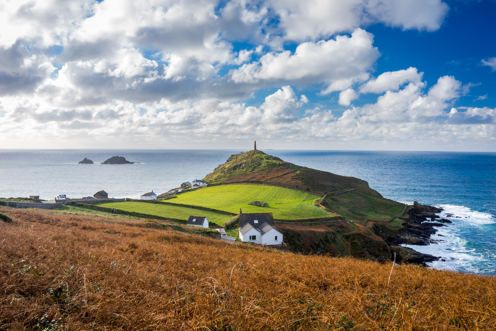Meneage Tours: Cape Cornwall, UK