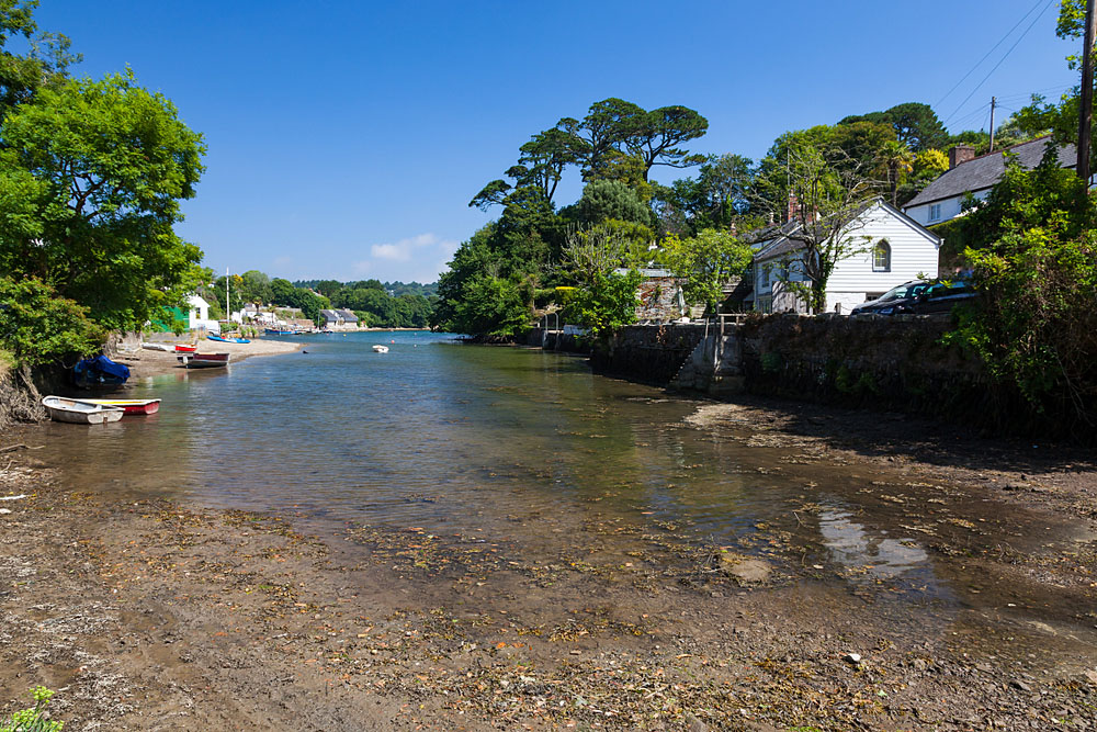 Helford Village in Cornwall